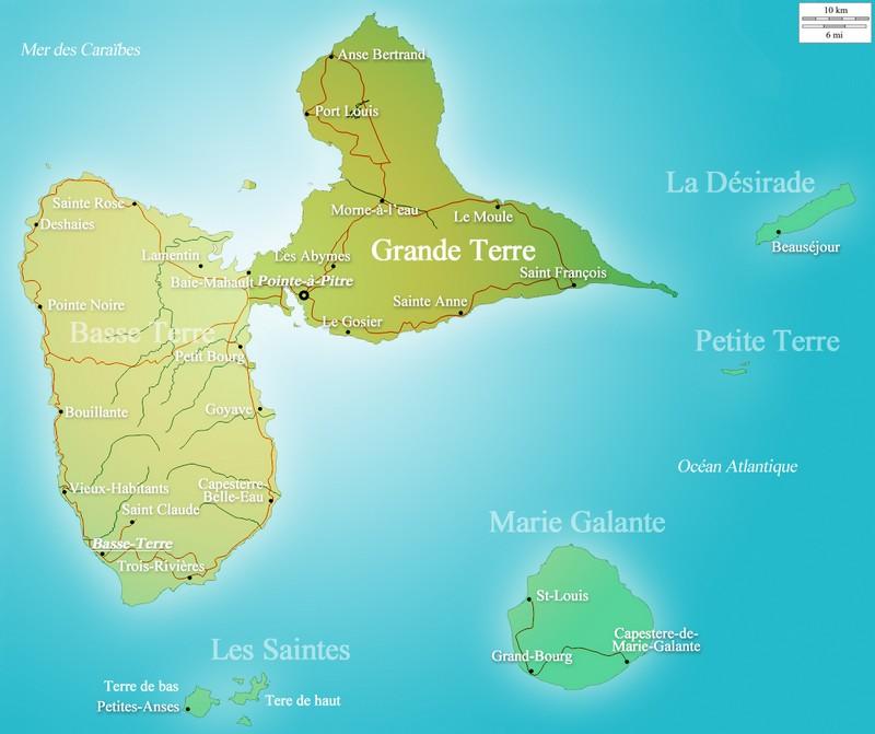 Carte Grande Terre