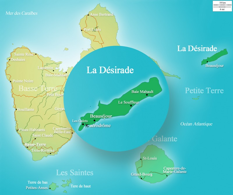 Carte la Désirade