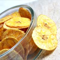 Recette chips de banane plantain