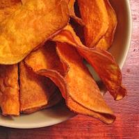 Recette chips de patate douce