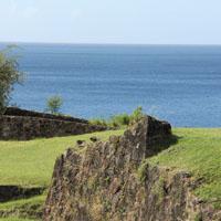 Musée de l'histoire de la Guadeloupe, Fort louis delgrès basse terre