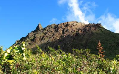 Le volcan de la Soufrière