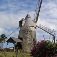 Moulin de Bézard à Capesterre-de-Marie-Galante