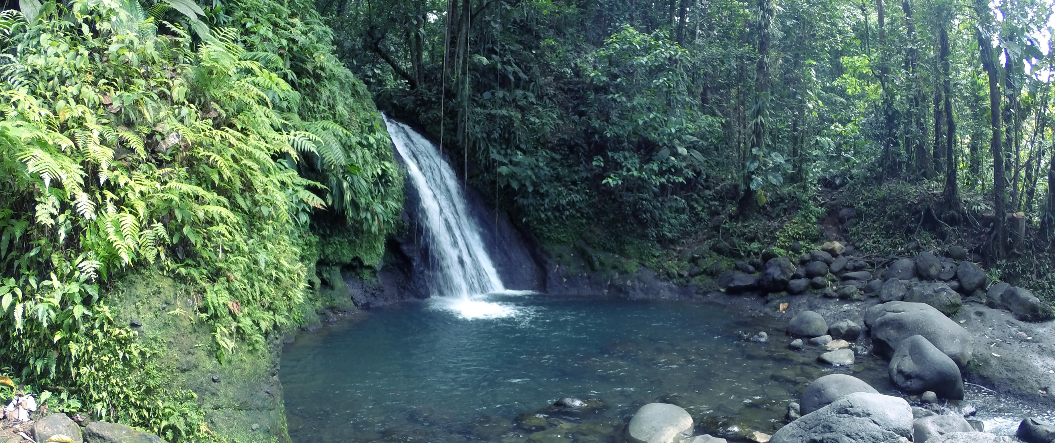 Cascade aux écrevisses Basse Terre Guadeloupe